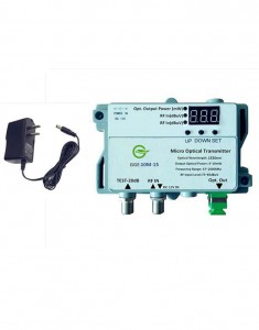 GGE-10M-13/15 MINI 1310nm/1550nm Optical Transmitter