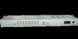 GG-4860 4 input agile channel rca a v modulator