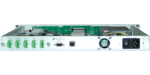GGORT-A 8 output RF in 1550 nm erbium doped fiber amplifier
