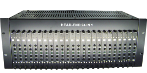 GG-24M  24 in 1  Headend Fixed channel catv modulator