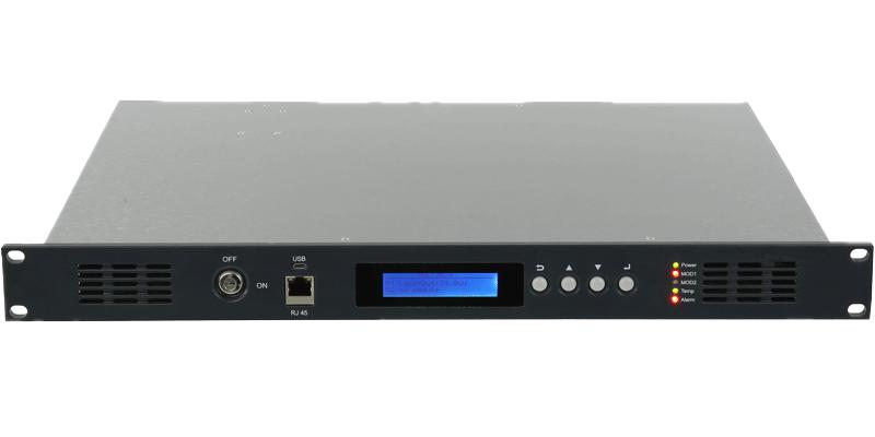 Factory best selling 01l 3 Output Outdoor Headend Cable Trunk Amplifier - GGE-50ErAxx Series High Power Ytterbium Optical Fiber Amplifier – GreenGo