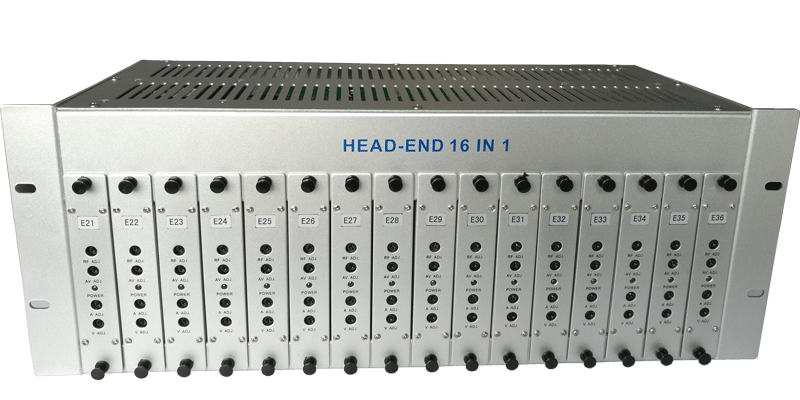GG-16 16 in 1  CATV Fixed channel headend modulator Featured Image